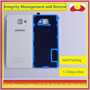 Image 4 - 50 teile/los Für Samsung Galaxy A5 2016 A510 A510F SM A510F Gehäuse Batterie Tür Hinten Rückseite Fall Chassis Shell