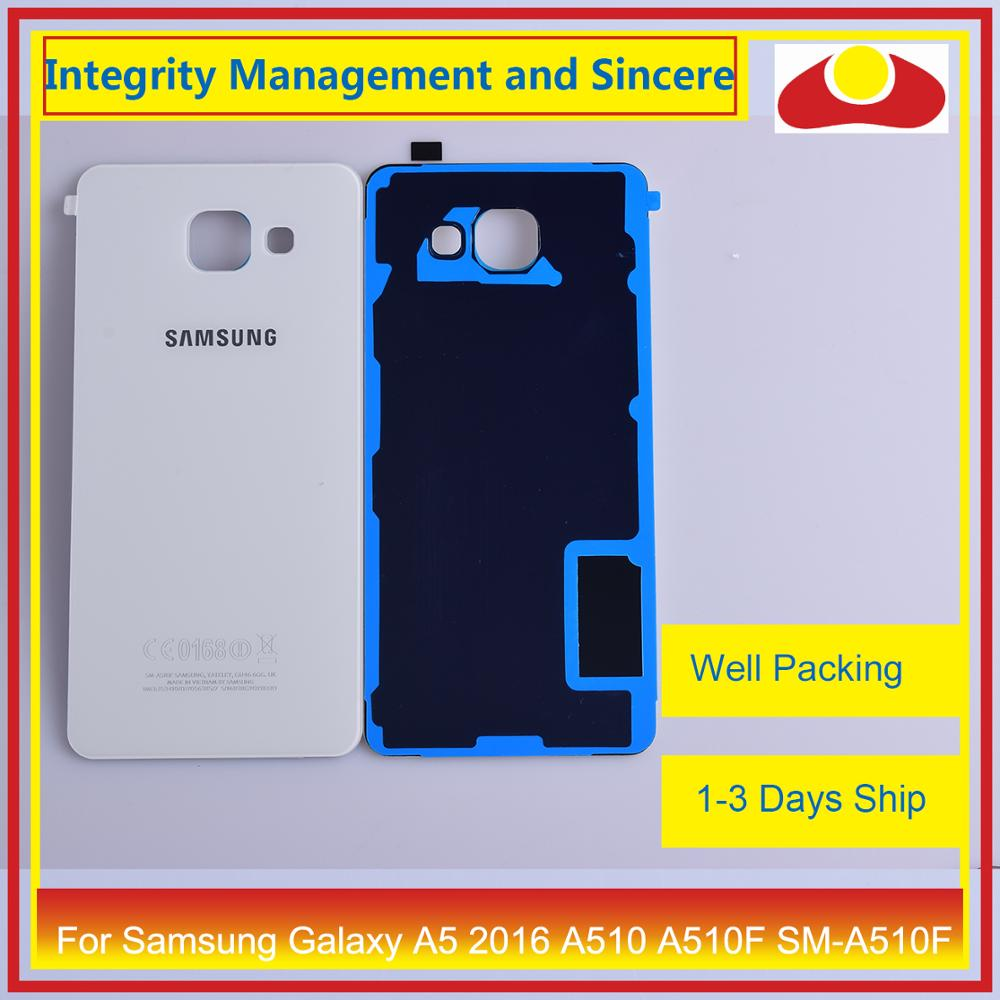 Image 4 - 50Pcs/lot For Samsung Galaxy A5 2016 A510 A510F SM A510F Housing Battery Door Rear Back Cover Case Chassis Shell-in Mobile Phone Housings & Frames from Cellphones & Telecommunications