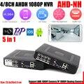 1080N H.264 VGA HDMI 8CH CCTV DVR 4 Canais de Segurança 4CH Mini DVR CCTV DVR Para AHD DVR 8 Canais 1080 P 12fps/Analógico/IP câmera