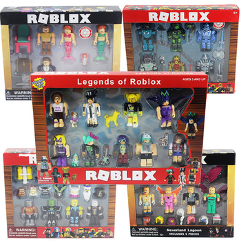 Roblox Toys Figure LED Alarm Clock Colorful Touch Flash light Amine