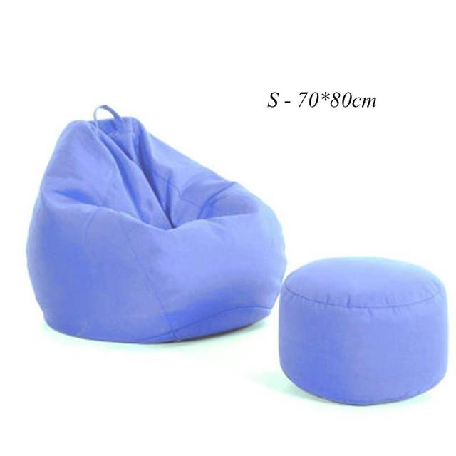 Big Bag Zitzak.Beanbags Sofa Chairs And Ottoman Covers Without Filler Cushion For