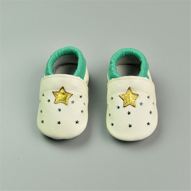 cartoon 100% Genuine Leather baby oxford shoes Baby moccasins Suede sole shoes baby Toddler baby booties First walker