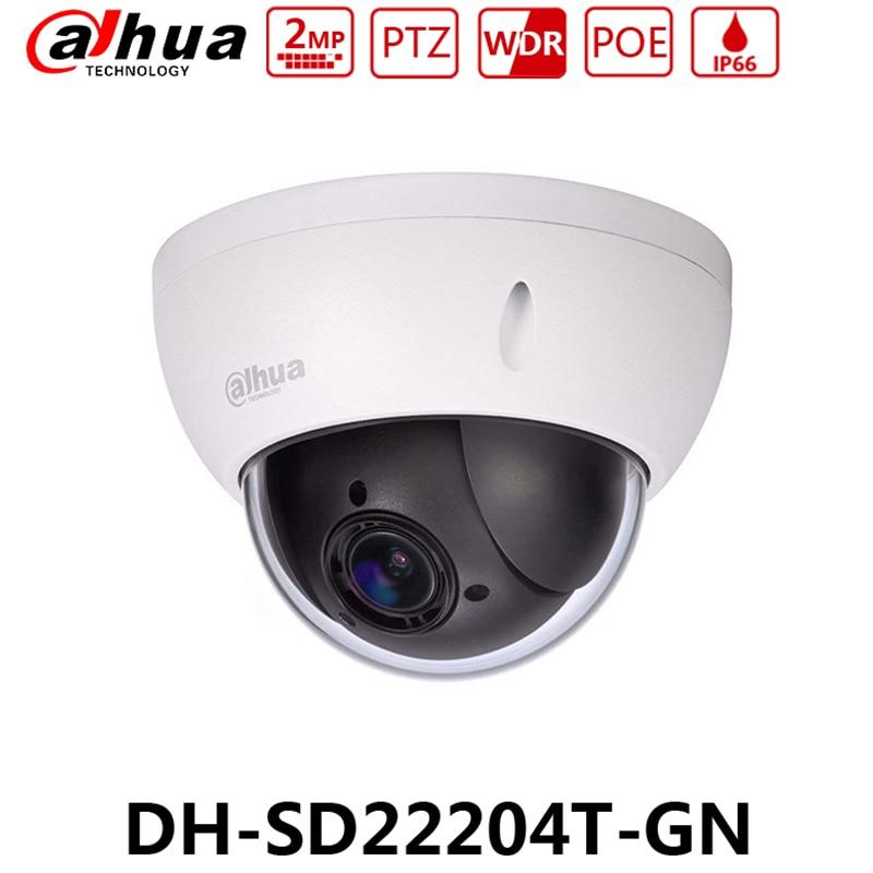 dahua camera ip megapixel 2 sd22204t gn original poe camera de rede mini dome ptz zoom