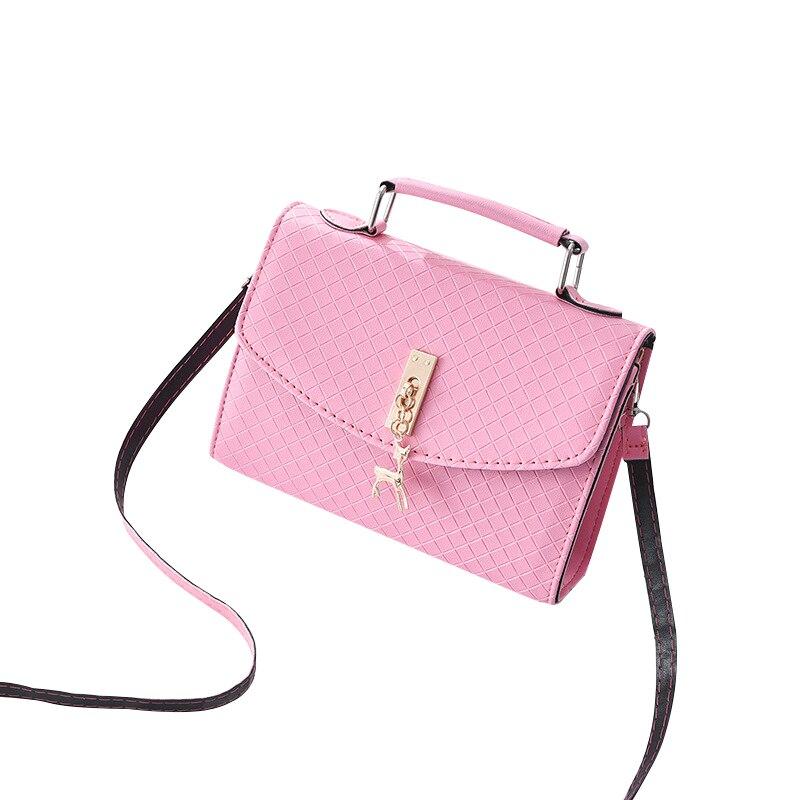 Fashion Womens Handbags Shoulder Strap Hasp Zipper Ladies Bags Crossbody Plaid Pattern Messenger Bags Sac Feminina Bolsos Mujer