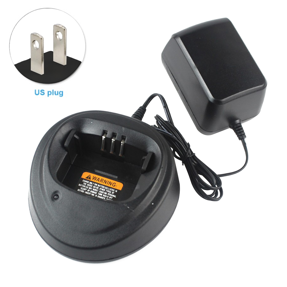 Power Supply Desktop Rechargeable Smart Durable Easy Use Charger Adapter Accessories Travel Walkie Talkie For Motorola 3188CP040