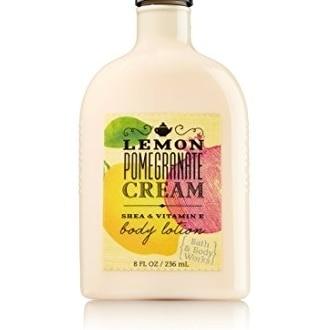 Bath & Body Works Lemon Pomegranate Cream Body Lotion 8 Oz. стоимость