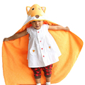 Cute Animal Shape Baby Hooded Bathrobe Bath Towel Baby Blanket Neonatal Hold To Be Children Kids Infant Bathing