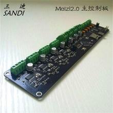 Comercio al por mayor 3D impresora Reprap Melzi 2.0 1284 P prusa i3 placa de control, había quemar programa de firmware