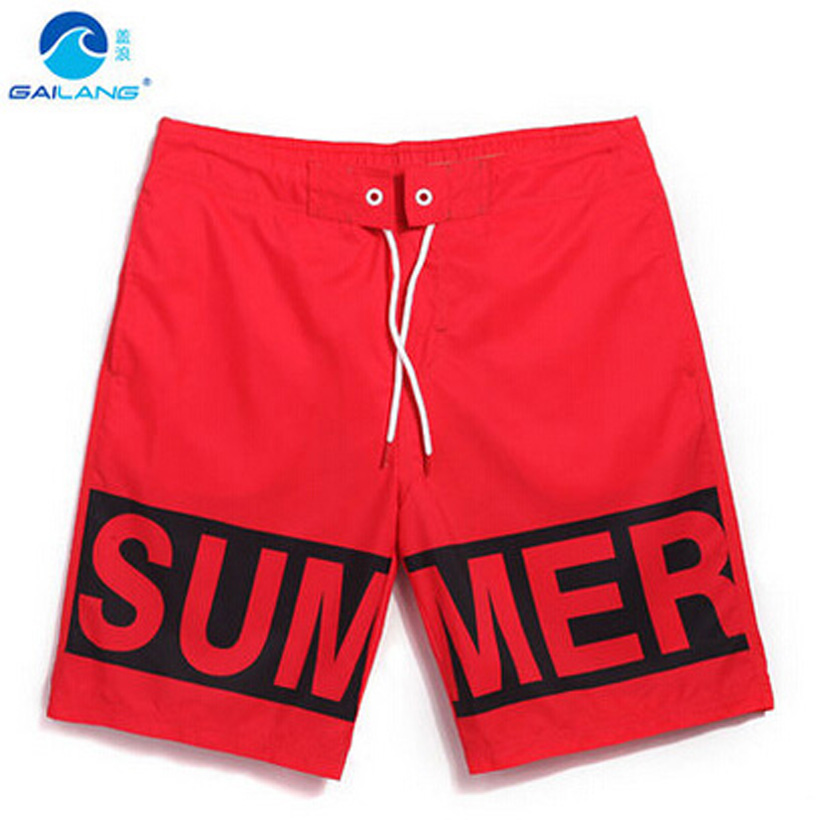 Brand Summer Mens   Shorts   Letter Printed Male Beach Surf   Short   Plus Size Loose Swimming Man Sea Holiday Swim Surfing   Board     Shorts