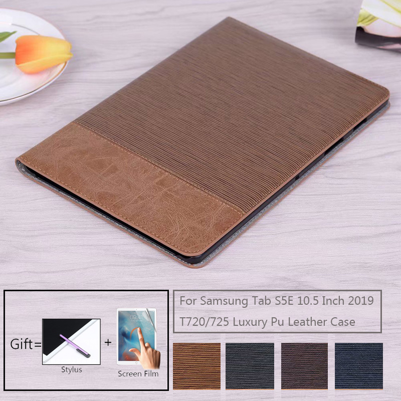 Luxury Magnetic Funda Tablet Case For Samsung Galaxy Tab S5E 10.5 SM-T720 T725 Protective Stand cover For Tab S5E 10.5 2019 Case-0