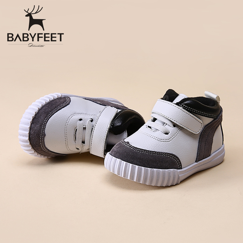Babyfeet winter ankle boots children's sports shoes infant plus velvet 0-3 Years old baby low girls and boys Toddler sneakers babyfeet new winter warm boots newborn baby boys girls cute shoes infant toddler soft sole anti slip snow booties size3 5 11