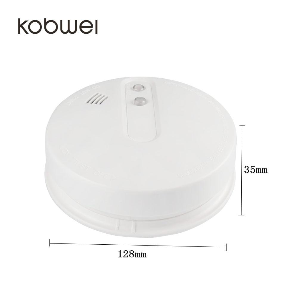 Atractivo y moderno diseño con pilas del detector de humos ...
