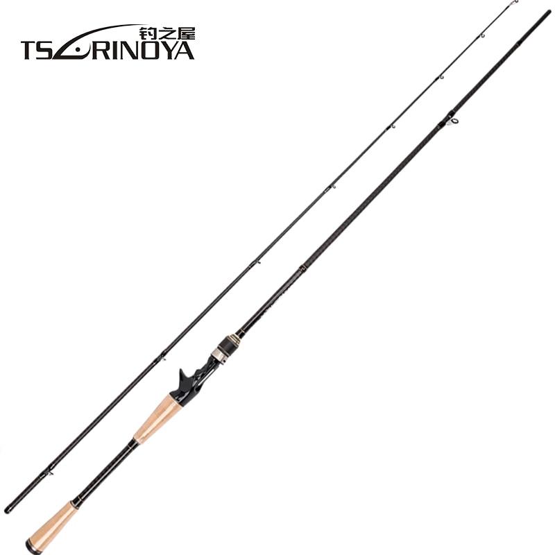 TSURINOYA PROFLEX II 702MHC 2.1 m Casting Canna Da Pesca 2 Sezione MH Potere Richiamo FUJI Canna Da Pesca Accessori Lure Peso 10-28g