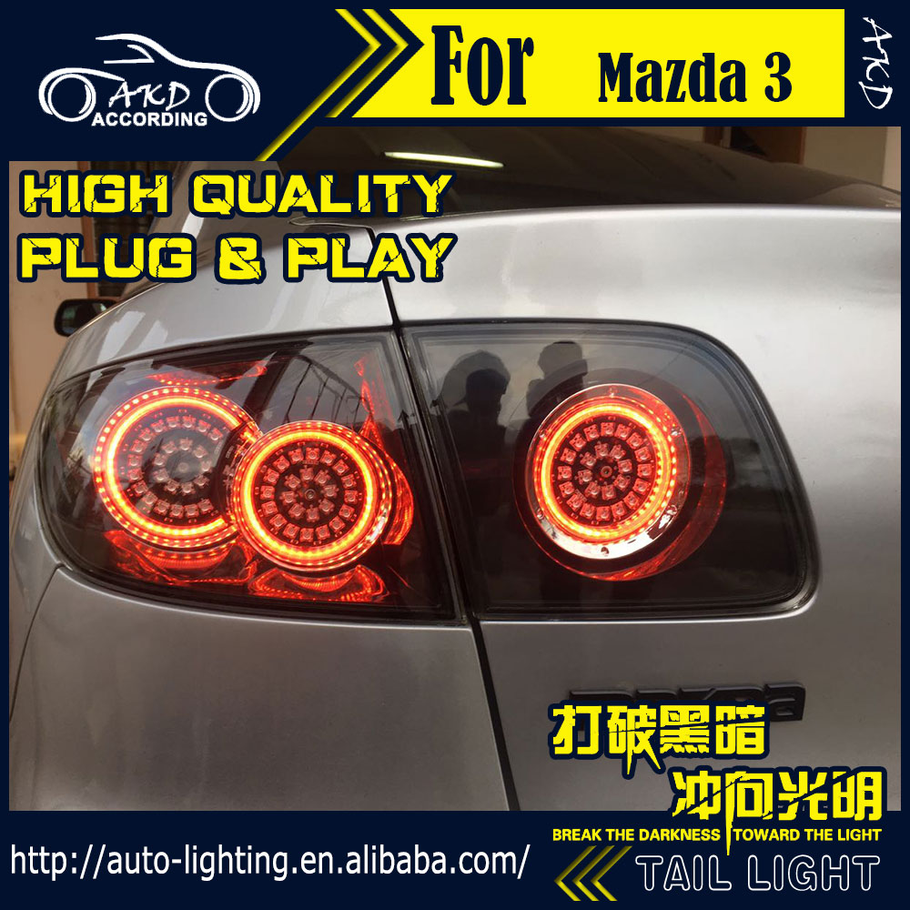 2012 mazda3 photos image 1 - Aliexpress Com Buy Car Styling Tail Lamp For Mazda 3 Tail Lights 2004 2012 Mazda3 Led Tail Light Drl Turn Signal Brake Reverse Auto Accessories From