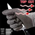 NMSafety Cut Resistant Рабочие Перчатки Стекла Передачи Мясник Труда Перчатки HPPE Анти Cut Перчатки Безопасности