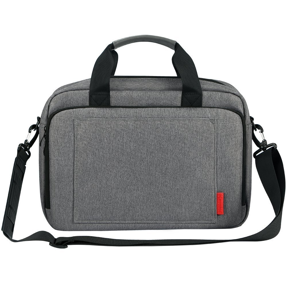 Image 5 - iCozzier Laptop Bag 15.6 13.3 inch Waterproof Notebook Bag for Mackbook Air Pro 13 15  Laptop Shoulder Handbag 13 14 15 inch-in Laptop Bags & Cases from Computer & Office
