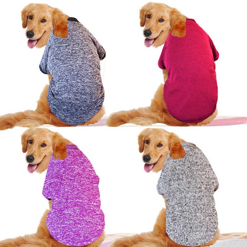 S-9XL одежда для больших собак, классическая одежда для собак, пальто, куртка, зимняя Большая одежда для собак, толстовка с капюшоном, Золотая одежда для ретривера