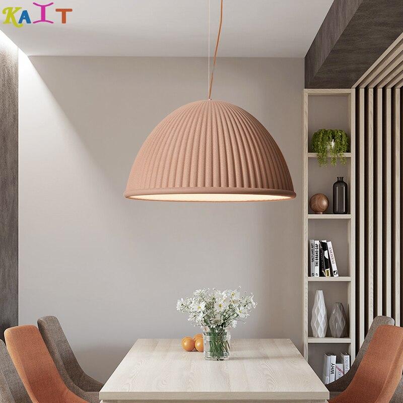 KAIT Modern Hat resin Pendant Lights Dining Room Art Pendant Lamps Hanging Lamps Home Lighting in Pendant Lights from Lights Lighting