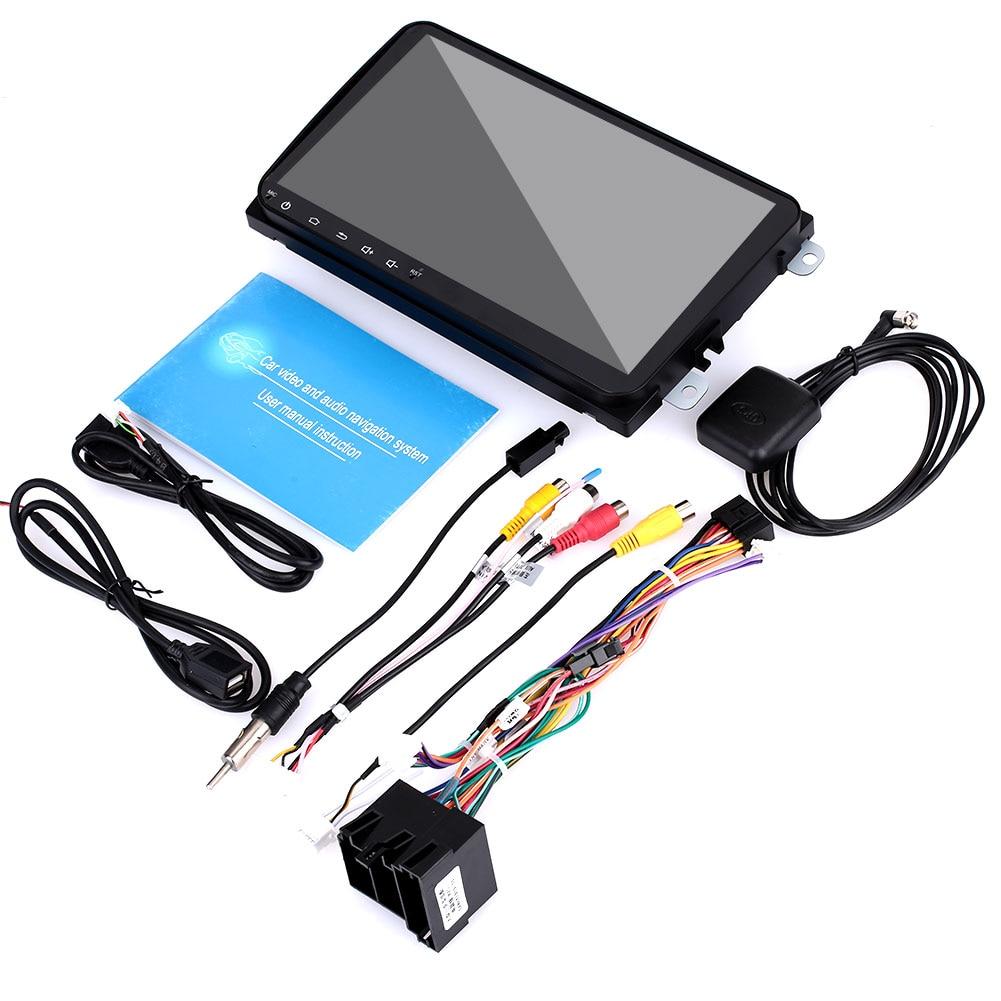 Автомобильный навигатор gps навигатор Универсальный Автомобильный навигатор датчики цифровой 16 ГБ FM передачи Портативный 9 дюйм(ов) ов) для VW