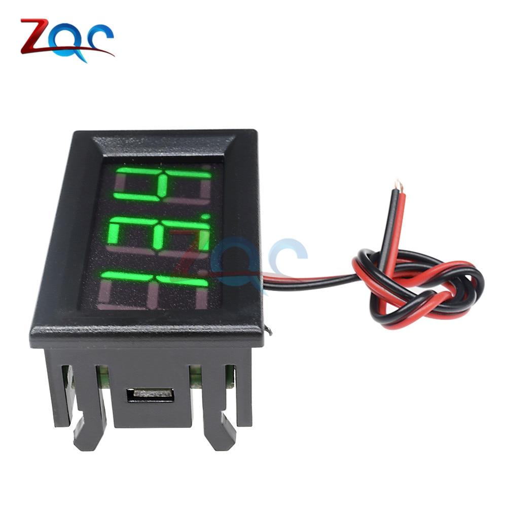 HTB1OYhoXf1G3KVjSZFkq6yK4XXaJ 0.56'' Mini LED Digital Voltmeter Detector DC 0-100V 12V 24V Voltage Capacity Monitor Volt Panel Tester Meter For Motorcycle Car