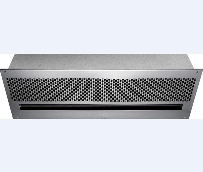 Recessed W-12S Air Curtain Ceiling Air Door With Natural Wind