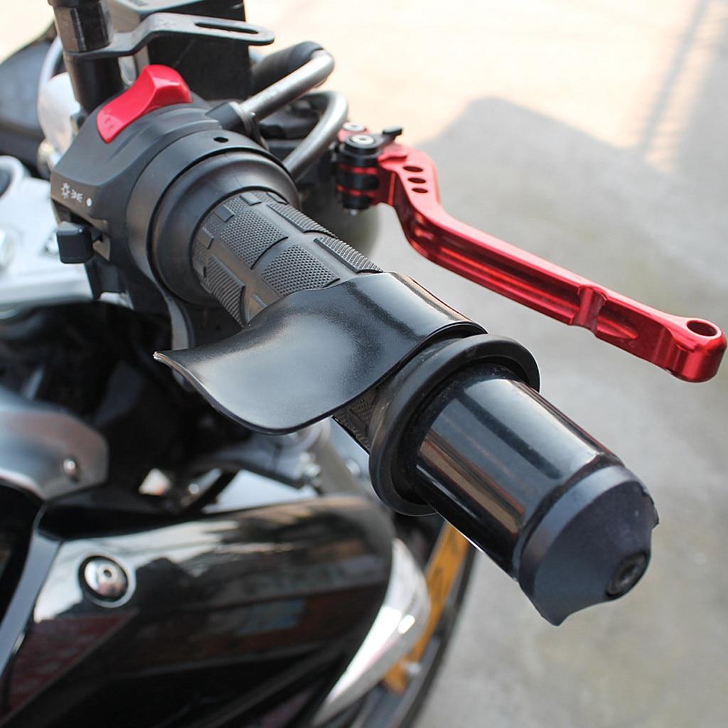 Universal Motorcycle E-Bike Grip Throttle Assist Carbon Fiber Moto Wrist Cruise Control Cramp Rest Grips Motorcycle Accessories