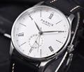 41,5 мм заявленные Parnis механические часы с автоматическим подзаводом Топ бренд часы для мужчин GMT бизнес классический кожаный водонепроницае...