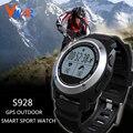 S928 smartwatch à prova d' água smart watch esportes ao ar livre relógio gps real-time monitor de freqüência cardíaca pulseira inteligente para android ios
