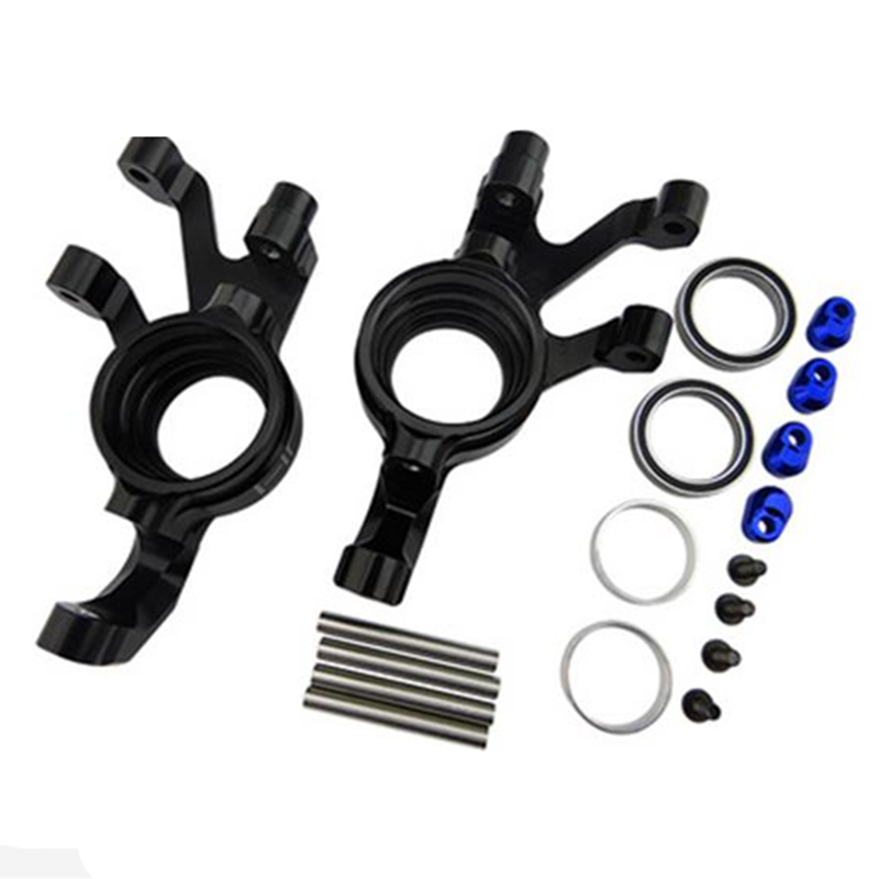 Hot Racing Aluminum Steering Knuckle Traxxas X Maxx X-Maxx XMX2101 aluminum steering knuckle carrier aka caster block c hub set for the traxxas x maxx