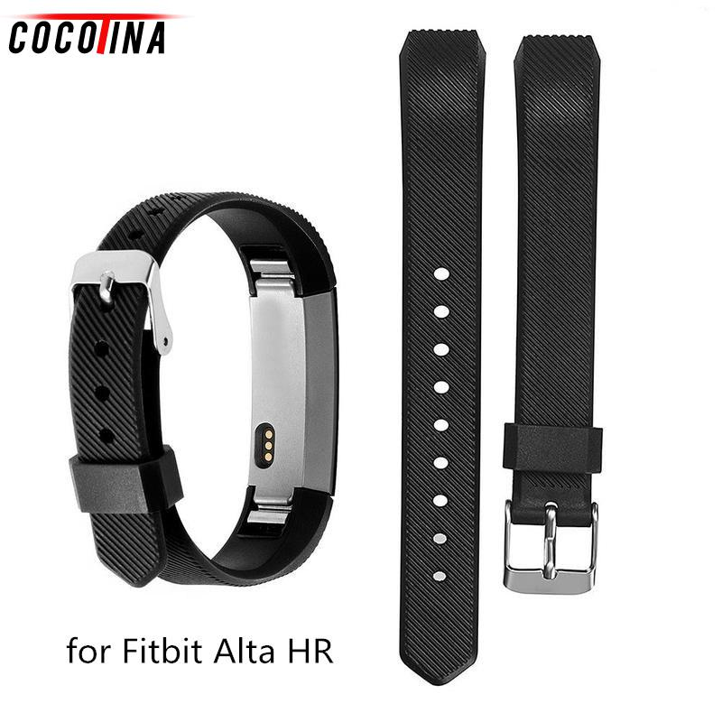 Cocotina Twill Colorful Replacement Wrist Watch Band Watch Strap Bracelets for Fitbit Alta HR Clasp for Fitbit Alta Band SWT2472