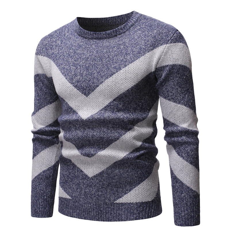 Sweater Men Casual Slim Fit Knitwear Pullover Clothes O-neck Sweater Autumn Winter  Computer Knitted Sweater