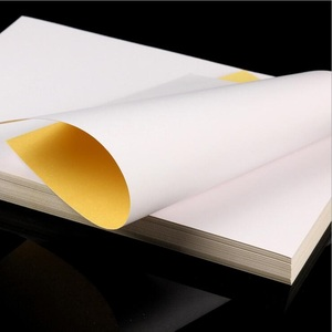 Image 4 - 100sheets/lot  NEW A4 Size White Blank Glossy & Matt Sticker Paper Label Printing Paper A4 adhesive sticker Printing Paper