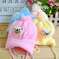 1 pcs chapéu do bebê boy girl newborn infant toddler macio bonito urso de crochê beanie chapéu morno cap