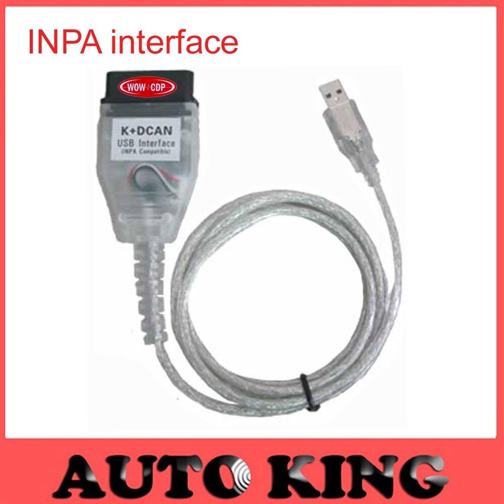 Prix pour 2017 Meilleur avec FT232RL puce! pour INPA K PEUT inpa k dcan USB OBD2 Interface INPA Ediabas Livraison Gratuite