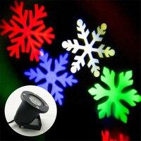 Display LED RGB Luzes Do Floco De Neve Floco De Neve À Prova D' Água Ao Ar Livre Em Movimento em Casa Parede Exterior Luz Do Projetor de Iluminação Da Paisagem