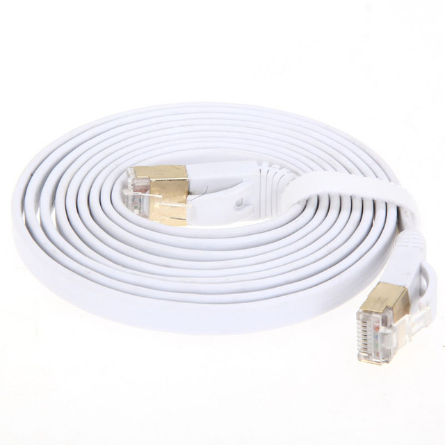 Brand New High Speed CAT7 Rj45 10Gbps 600Mhz Ethernet Cable Modem Router LAN Network Internet Lan 2M/3M/5M