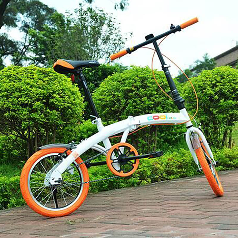 High Carbon Steel Material  16 Inch Tourism Equipment Manufacturer Cycling Folding Bike