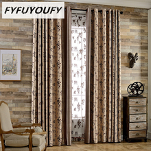 1PC Cloth curtain Classic Traditional Chinese Style elegance High-grade Printed curtains Fabric for Window Curtains Blinds