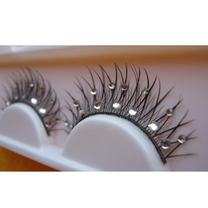 new 15 fork size diamond anrdell bright diamond diamond wedding stage false eyelashes make