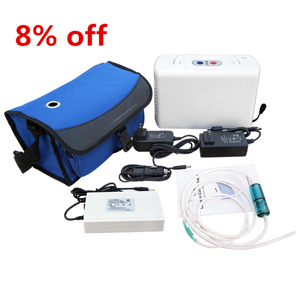110V New Easy Using Oxygen Concentrator Machine Portable Oxygen Generator 3L/MIN 32W 32w oxygen concentrator machine portable oxygen generator 3l min low noise