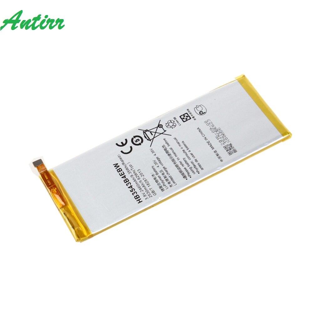 New 3 8V 2460mAh HB3543B4EBW Li Polymer Battery For Huawei Ascend P7 L07 L09 L00 L10