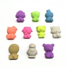 8pcs monkey dog cat rabbits Play Dough Plasticine Mold Magic beach Sand Mold for Children indoor