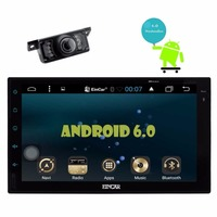Backup Camera Included Eincar Android 6 0 2 Din Car Stereo Radio Touchscreen GPS Navigation Bluetooth