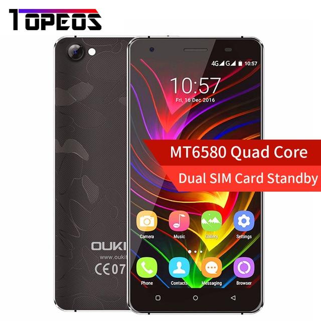"Oukitel C5 Pro 4G LTE Shockproof Mobile Cell Phone 5.0"" inch 2GB RAM+16GB ROM MT6737 Quad Core 1280x720 Anti-smash Metal Frame"