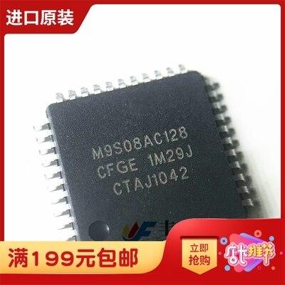 5 PCS MC9S08AC128CFGE TQFP 44 MC9S08AC128 TQFP44 MC9S08 8 bit microcontroller Nieuwe en originele