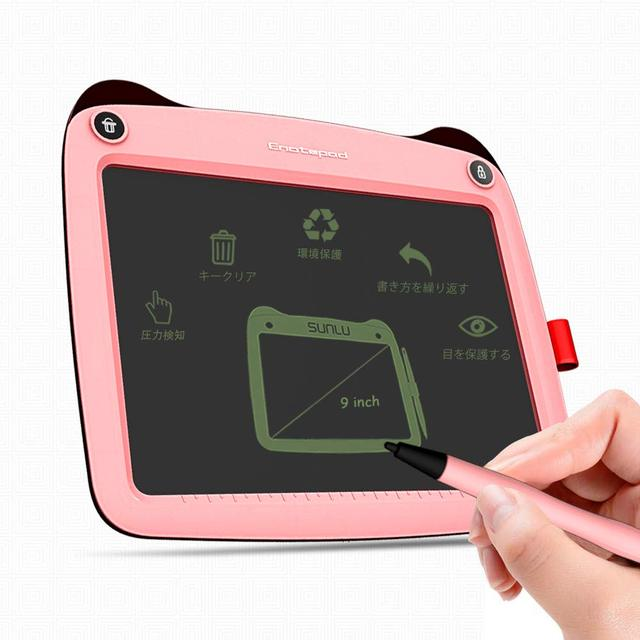 SUNLU LCD Tablet 9 Inch Electronic Drawing Writing Board Portable Handwriting Notepad