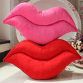 Hot Sale New Creative Lovely Funny Lip Plush Toy Throw Pillow Cushion Soft Sleeping Pillow Home Decroation Best Gifts for Famly