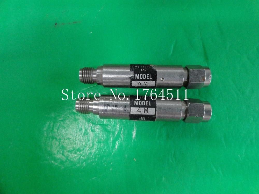 [BELLA] WEINSCHEL 4M-6dB/30dB 18GHz 6dB 30dB 2W Coaxial Fixed Attenuator SMA  --2PCS/LOT