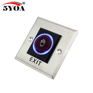 Image 2 - 5YOA Infrared Sensor Switch No Touch Contactless Door Release Exit Button with LED Indication