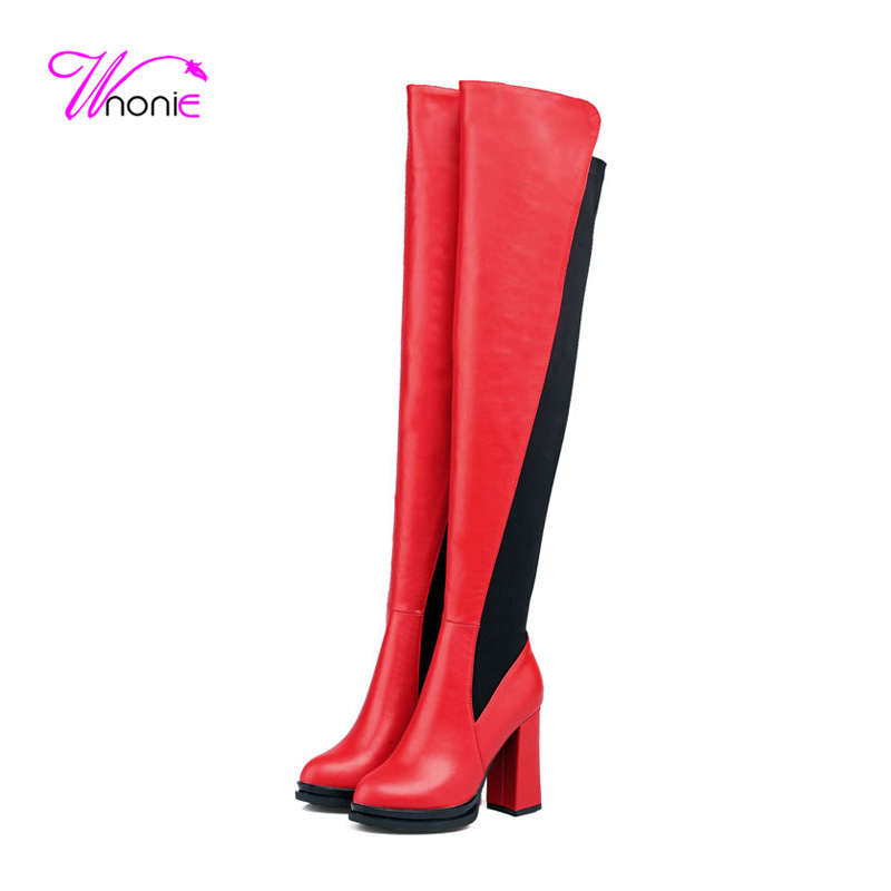 Compare Prices on Long Thigh High Boots- Online Shopping/Buy Low ...
